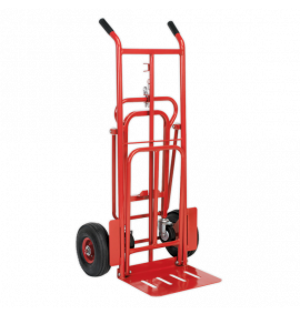 Sack Truck 3-in-1 with Pneumatic Tyres 250kg Capacity