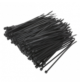 Cable Tie 100 x 2.5mm Black Pack of 2000