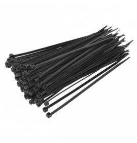 Cable Ties Black Pack of 1000