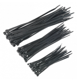 Cable Tie Assortment Black Pack of 750