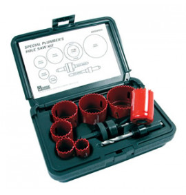 Morse 8 Piece Plumbers Hole Saw Kit