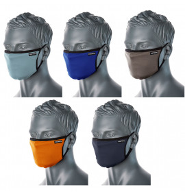 3-Ply Fabric Face Mask (Pack of 25)