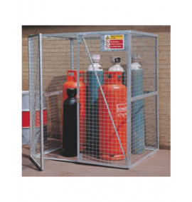 Cylinder Storage Lock-Up Cage - Galvanised
