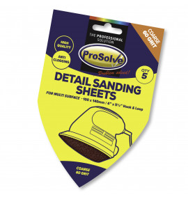 PROSOLVE ABRASIVES (DELTA SANDING PADS, HOOK AND LOOP)