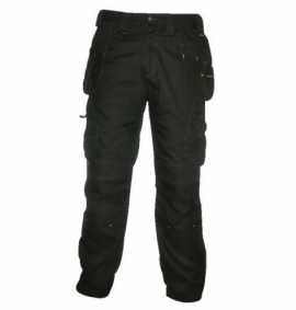 Dewalt Low Rise Twisted Leg Work Trouser - Black