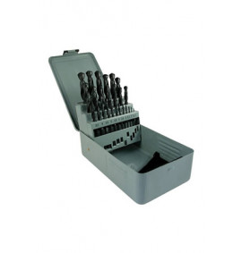 25pc Metric HSS Drill Bit Set  - 1-13 x 0.5mm