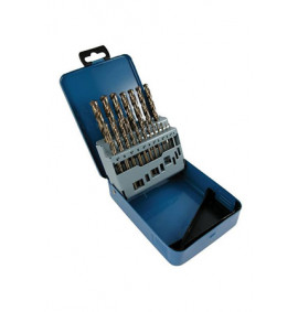 5% Cobalt Split Point 19 Piece Metric