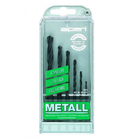 Alpen 6pc HSS Sprint Jobber Drill Set