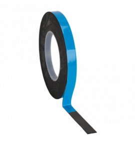 Double-Sided Adhesive Foam Tape Blue Backing