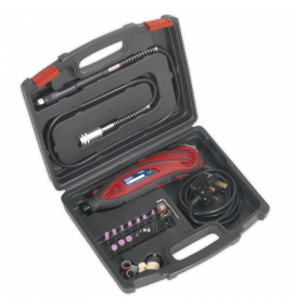 Multipurpose Rotary Tool & Engraver Kit 40pc 230V