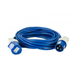 Defender 14M Extension Lead - Blue - 240V