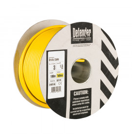 Defender 1.5mm 100M 3 Core Cable Drum 110V