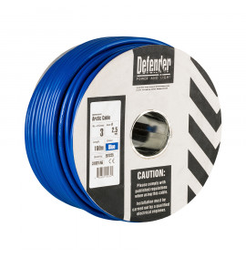 Defender 2.5mm 100M 3 Core Cable Drum 240V