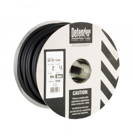 Defender 50M 2 Core Cable Drum 110V/240V