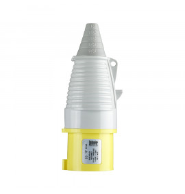 Defender 32A Plug - Yellow 110V