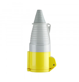 Defender 32A Coupler - Yellow 110V