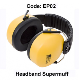 Proforce Headband Supermuff (Yellow/Black)