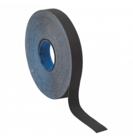 Emery Roll Blue Twill 25mm x 25m (40 Grit)