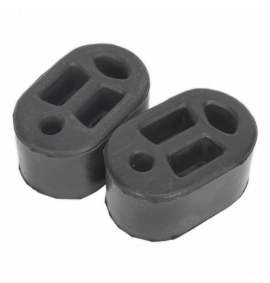 Exhaust Mounting Rubbers L70 x D45 x H37 (Pack of 2)