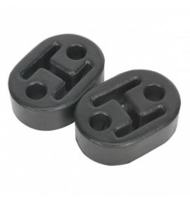 Exhaust Mounting Rubbers L60 x D41 x H20 (Pack of 2)