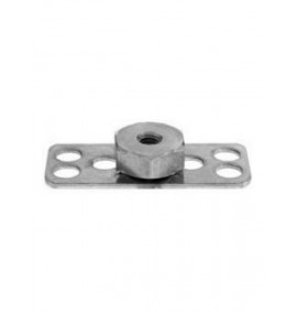 BigHead Mild Steel Female Hex Nut M6