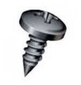 Crossed Pan Head Tapping Screw - Polyphtalamide 45% Glass Filled