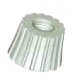 Knurled Nuts - Natural Nylon