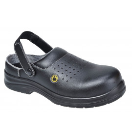 Portwest Compositelite ESD Perforated Safety Clog SBAE