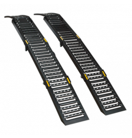 Steel Folding Loading Ramps (500kg Capacity Per Pair)
