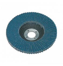 Flap Disc Zirconium Ø100mm - Ø16mm Bore (40 Grit)