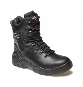 Dickies Quebec Super Safety Boot With Side Zip S1-P (Lined)