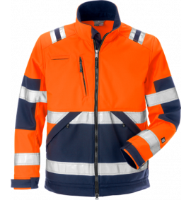 Fristads High Vis Soft Shell Jacket CL 2 4083 WYH