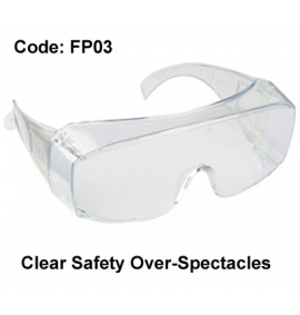 Proforce Clear Safety Over Spectacles