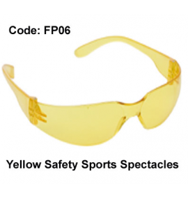 Proforce Yellow Safety Sports Spectacles