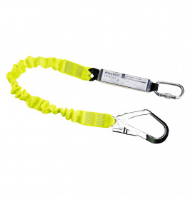 Portwest Single Elasticated Lanyard With Shock Absorber