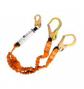 Portwest Double 140kg Lanyard with Shock Absorber