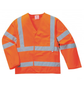 Portwest Hi-Vis Anti Static Jacket - Flame Resistant