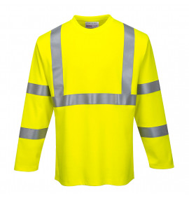 Portwest FR Hi-Vis Long Sleeve T-Shirt