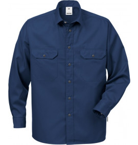 FRISTADS COTTON SHIRT 720 BKS