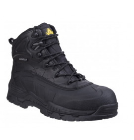 Amblers Safety Hybrid Boot with Memory Foam Footbed