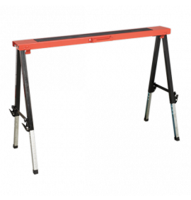 Fold Down Trestle Adjustable Legs 150kg Capacity