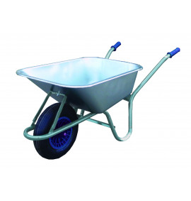 Hefty Galvanised Wheelbarrow - GB726B