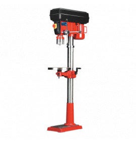Pillar Drill Floor Variable Speed 1630mm Height 650W/230V