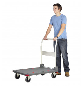 Pro-Dek Heavy Duty Platform Trolley with Quiet Castors