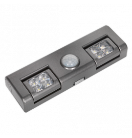 Auto 8 LED Light with PIR Sensor 3 x AA Cell