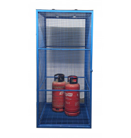 Knock Down Gas Cylinder Cages