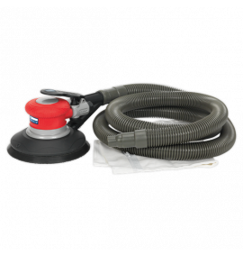 Self-Contained Air Palm Random Orbital Sander - Dust-Free (Ø150mm)