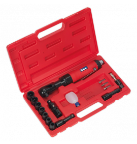 "Air Ratchet Wrench Kit (3/8""Sq Drive)"