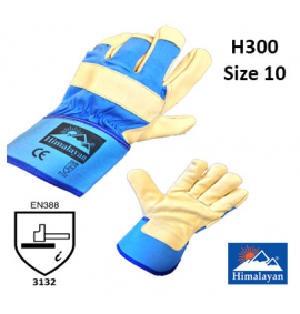 Himalayan Beige and Blue Premium Rigger Glove (Sold in packs of 10)