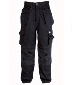 Himalayan Black Icon Multi Pocket Trouser